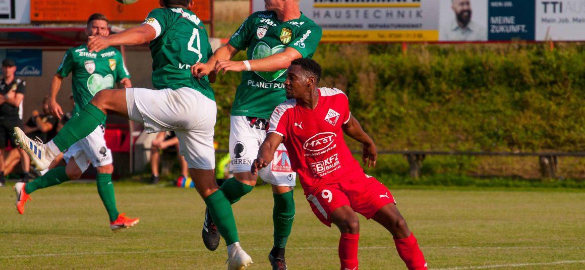 Bittere 0:5-Heimniederlage im Cupmatch gegen SC Austria Lustenau (0:2)