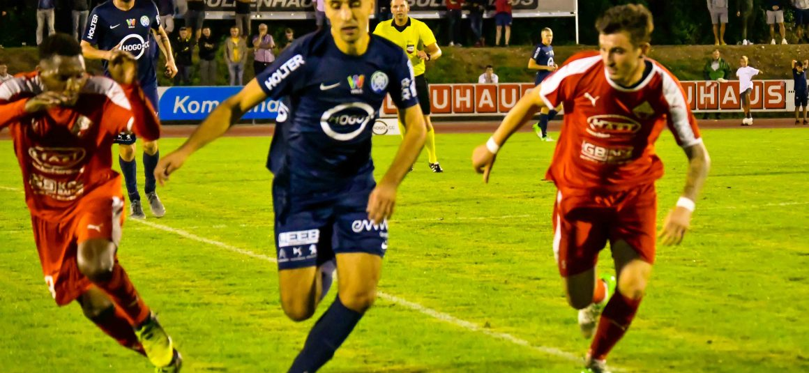 5:0-Auswärtsniederlage im Derby gegen WSC Hertha Wels (0:0)