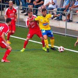3:0-Auswärtsniederlage gegen DSC Deutschlandsberg (2:0)
